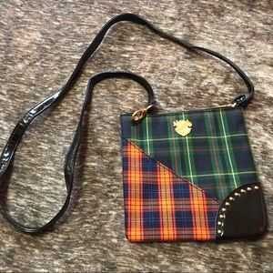 MAC print crossbody purse